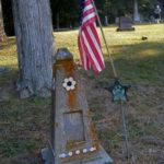 Tombstone Tuesday: A Homemade Tombstone