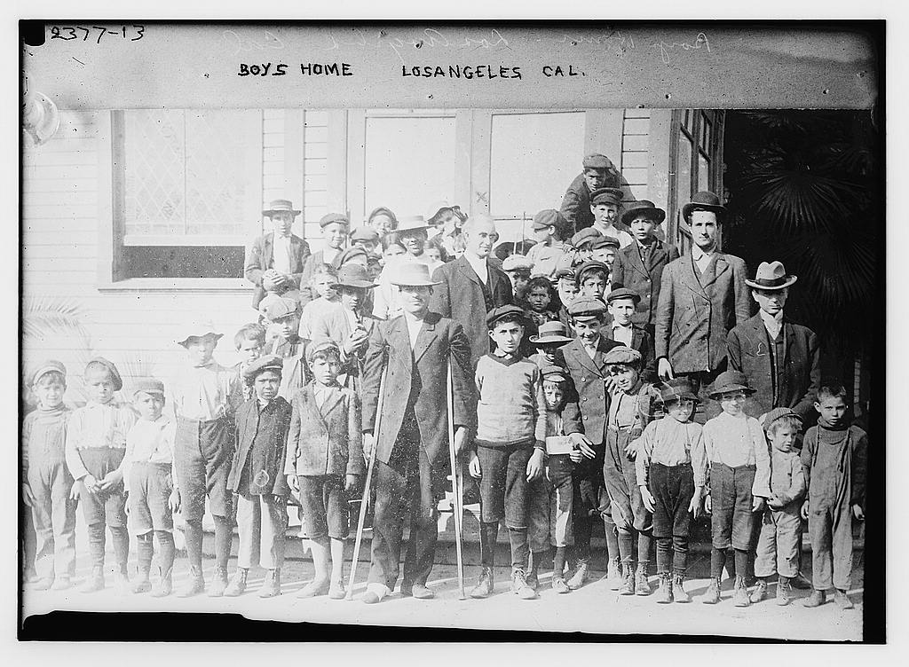 Boy's Home, Los Angeles, California. Library of Congress image, downloaded from Flickr Commons.