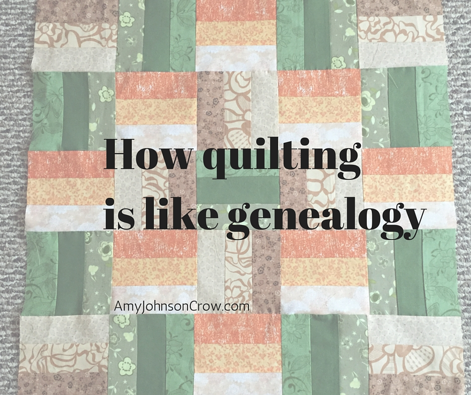 quilting and genealogy