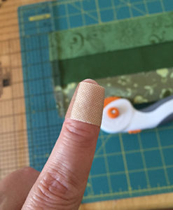 Quilting and cutting