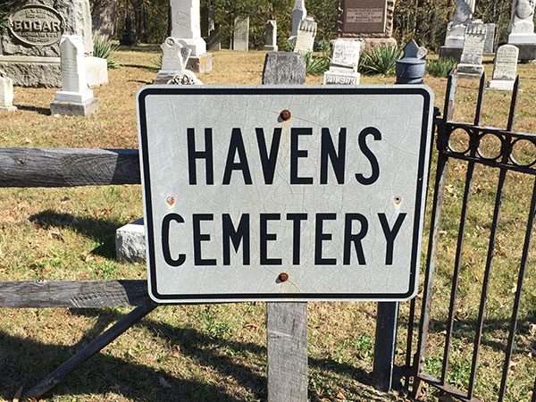 Photos You Should Take at the Cemetery - cemetery sign