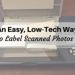The Easy, Low-Tech Way to Label Scanned Photos