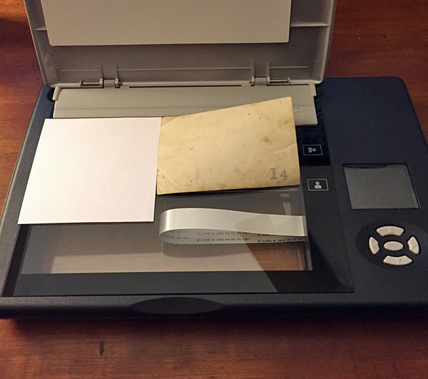 An easy, low-tech way to label your scanned photos