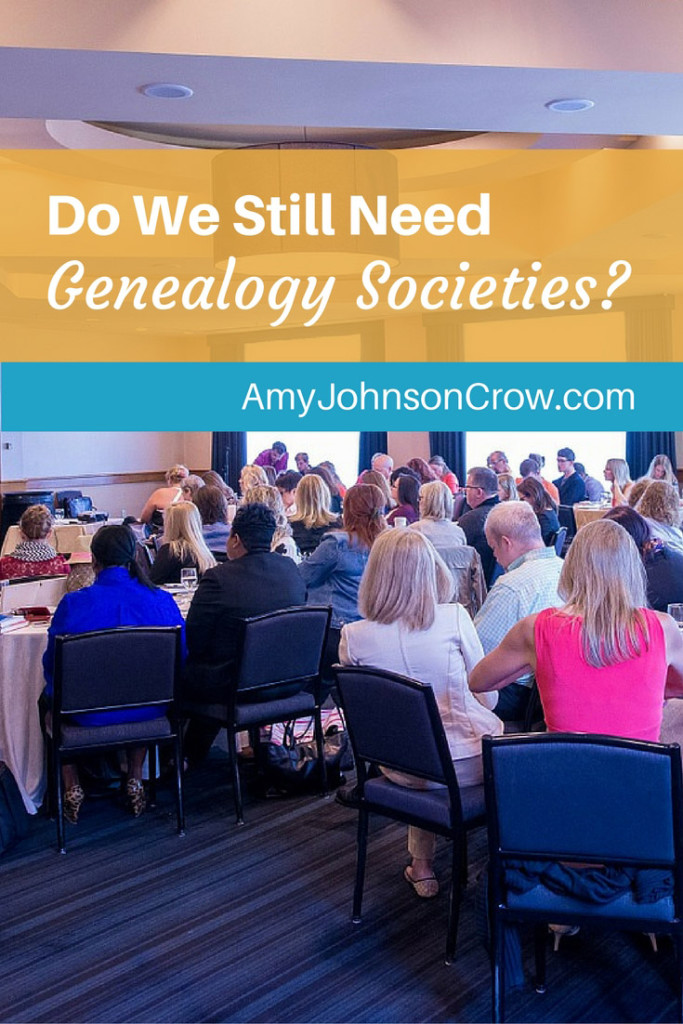 In today's world of social media, do we still need genealogy societies? That's the question I posed to Josh Taylor, host of Genealogy Roadshow and president of FGS.