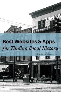 Best Websites and Apps for Finding Local History