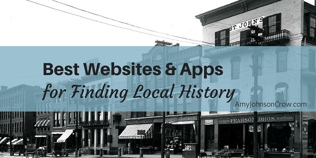 finding local history - twitter