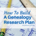 How to Build a Genealogy Research Plan
