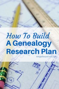 How to Build a Genealogy Research Plan. A research plan is more than a to-do list. It's a framework to help guide your research. It helps you be more productive and less frustrated.