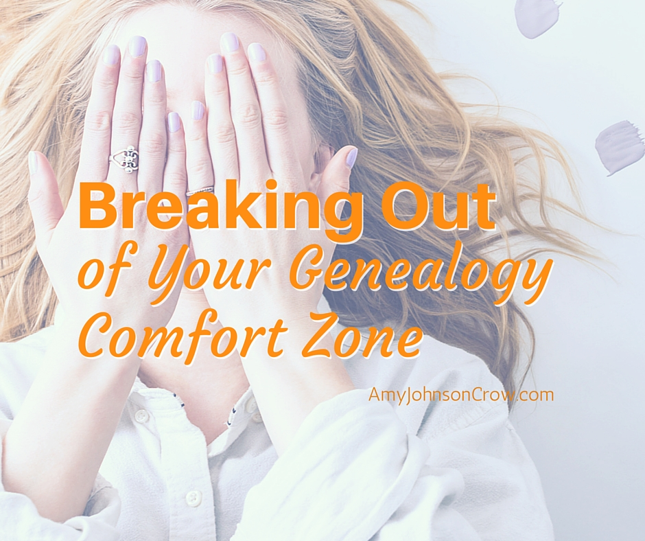 Breaking Out Comfort Zone