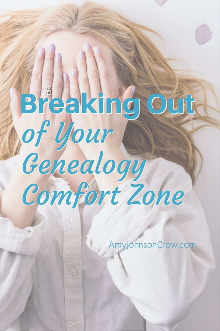 Being too comfortable with the sources you use in genealogy can keep you from making discoveries. See how you can break out of your genealogy comfort zone.