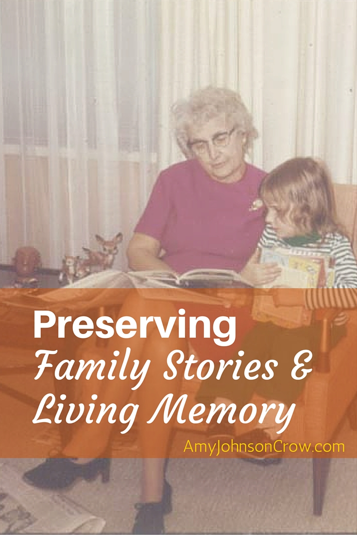 Family history is more than names and dates. Learn the importance of family stories and living memory and how to preserve them (and help your genealogy in the process.)