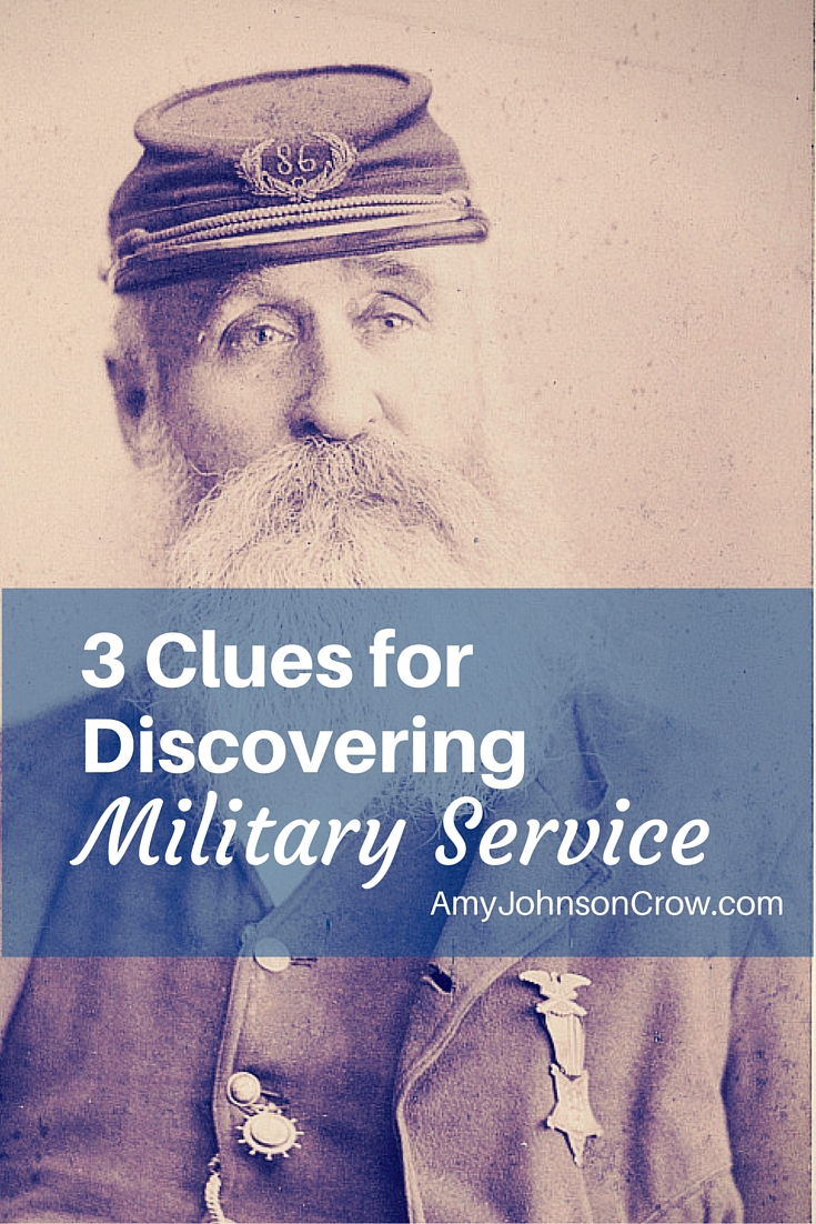 Military records are wonderful for genealogy research. Here are 3 clues you might be missing that can show your ancestor's military service.