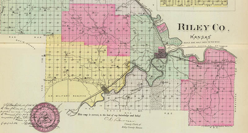 5 Types of Maps Every Genealogist Should Know - Boundary Map