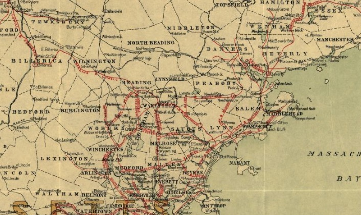 5 Types of Map Every Genealogist Should Know - Railway Map