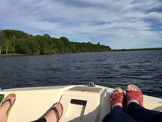 on-the-boat