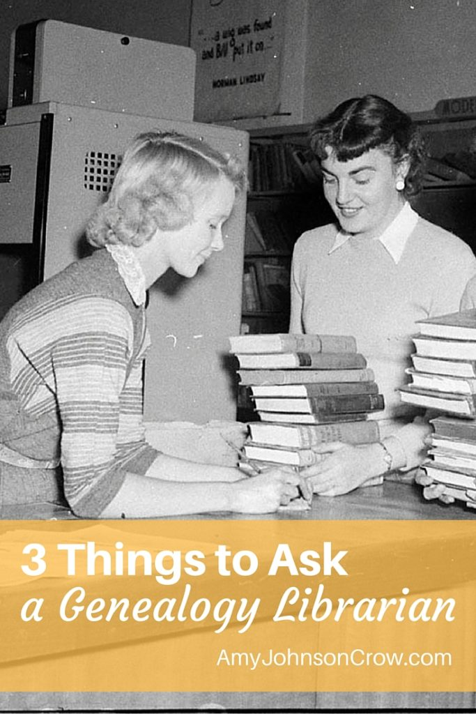 Get more out of your trips to the library by asking the librarian these three questions.