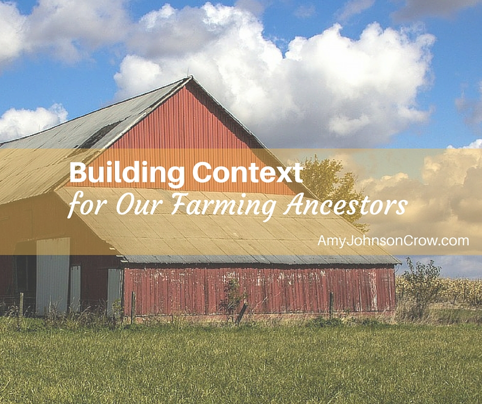 Building Context for Farming Ancestors