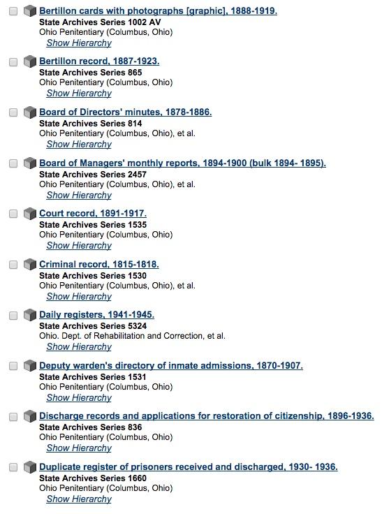 Finding Hidden Genealogy Resources - OHC Catalog