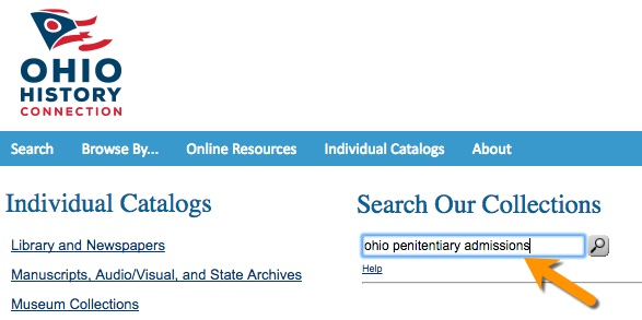 Ohio History Connection catalog
