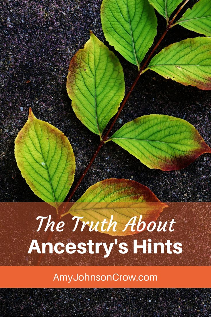 Ancestry's hints - those shaky leaves - have some limitations for genealogy research. Here are the limits and how to work around them.