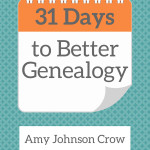 31 Days to Better Genealogy is now a book!
