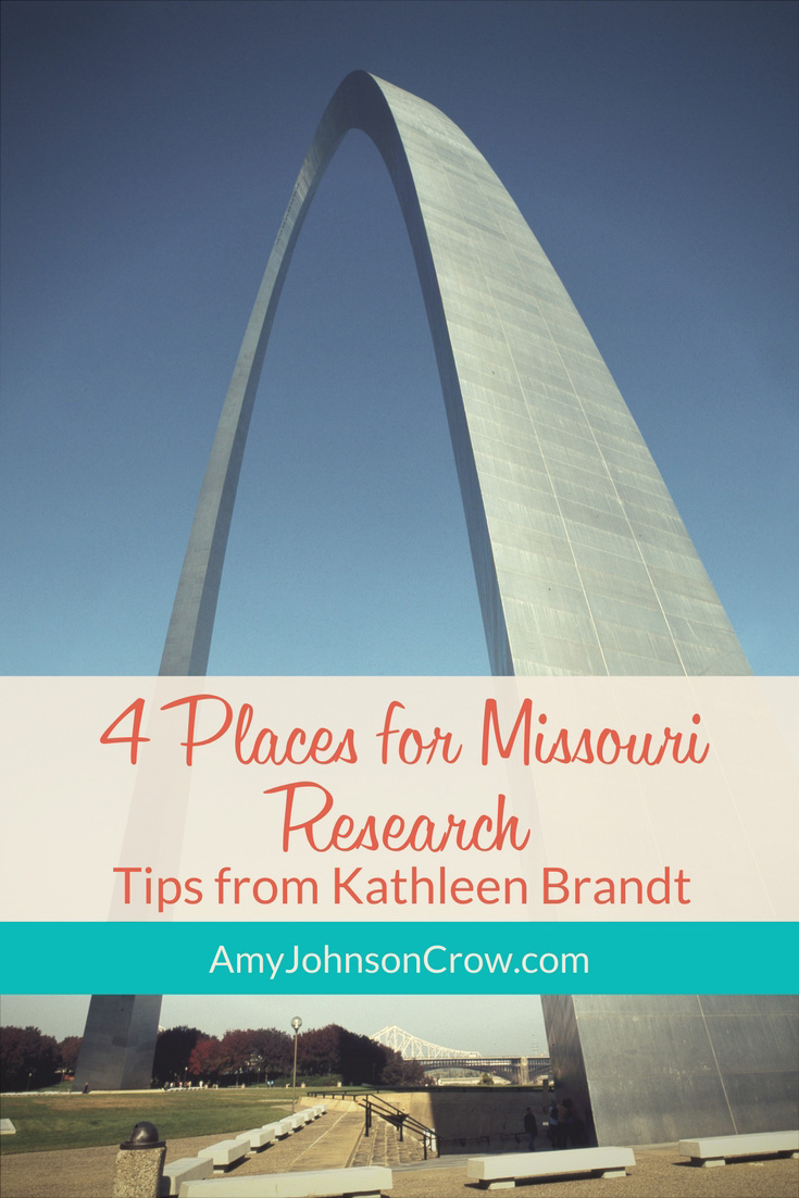 4 Places for Missouri Genealogy Research