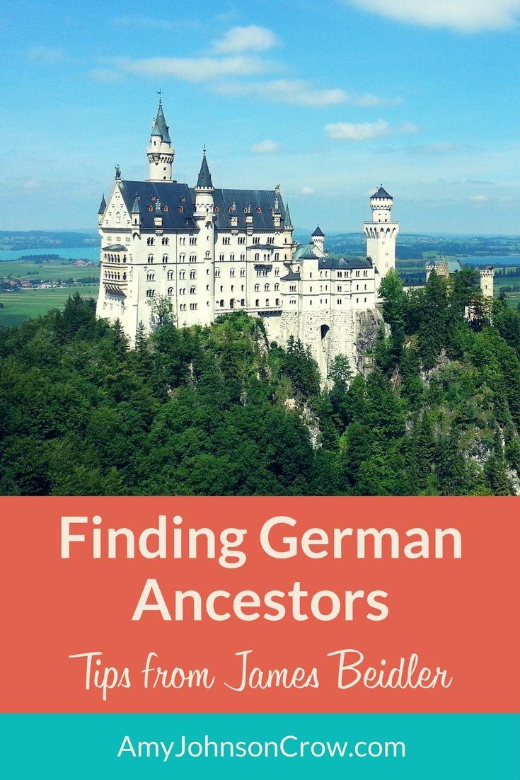 Learn practical strategies for finding the origins of your German ancestors. #genealogy #Germany #Germans #familyhistory