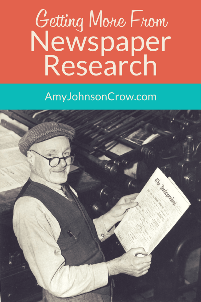 Getting More from Newspaper Research