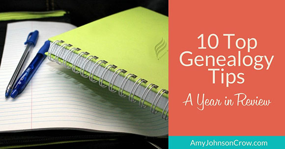 10 Top Genealogy Tips