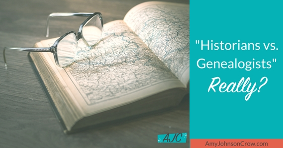 Historians versus Genealogists. Is there really a difference?