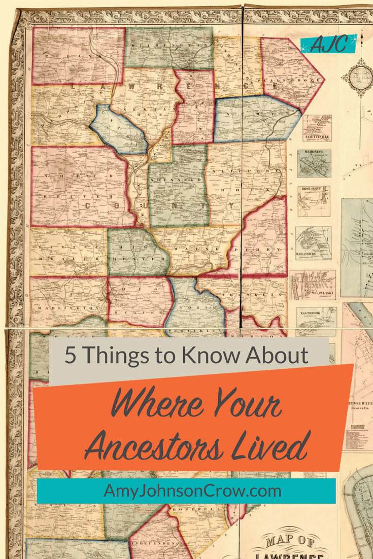 Location affected our ancestors and it affects how we research them. Here are 5