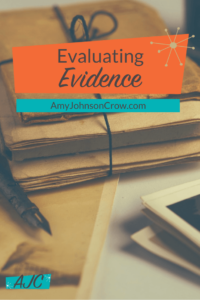 Evaluating Evidence in Genealogy