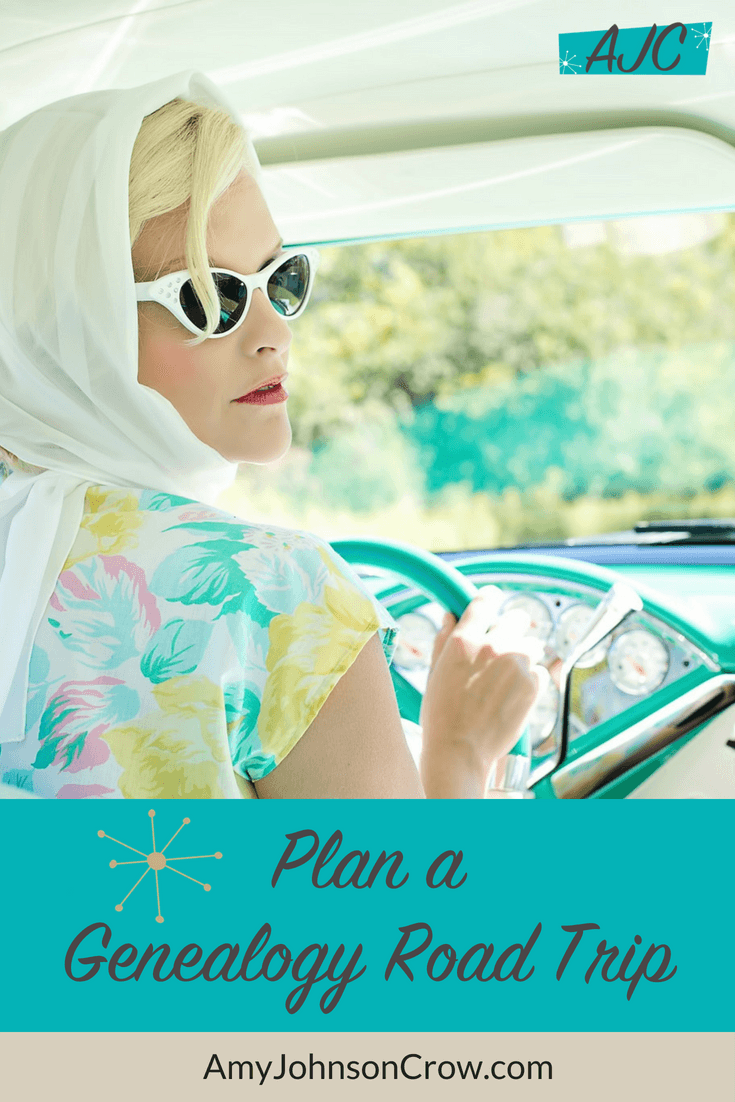 Before you load up the car, plan ahead for your #genealogy road trip. You'll greatly increase your odds of success and lessen your frustration. #familyhistory #ancestry