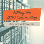 8 Sources to Fill the 1890 Census Gap
