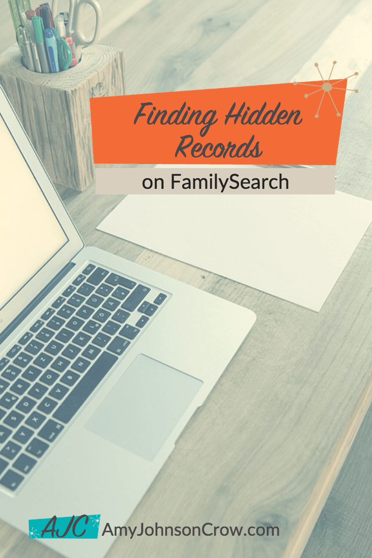 FamilySearch doesn't always link images and records. Here's how to find images for many