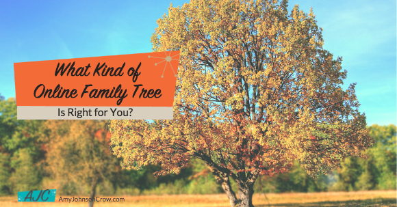What Kind of Online Family Tree is Right for You