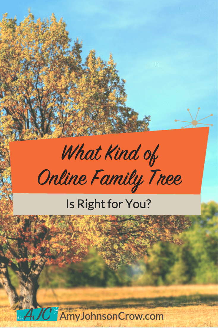 Should you have a separate online tree or a collaborative one? Here's how to decide. #genealogy #familytrees