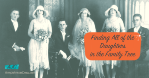 Finding All of the Daughters in the Family Tree