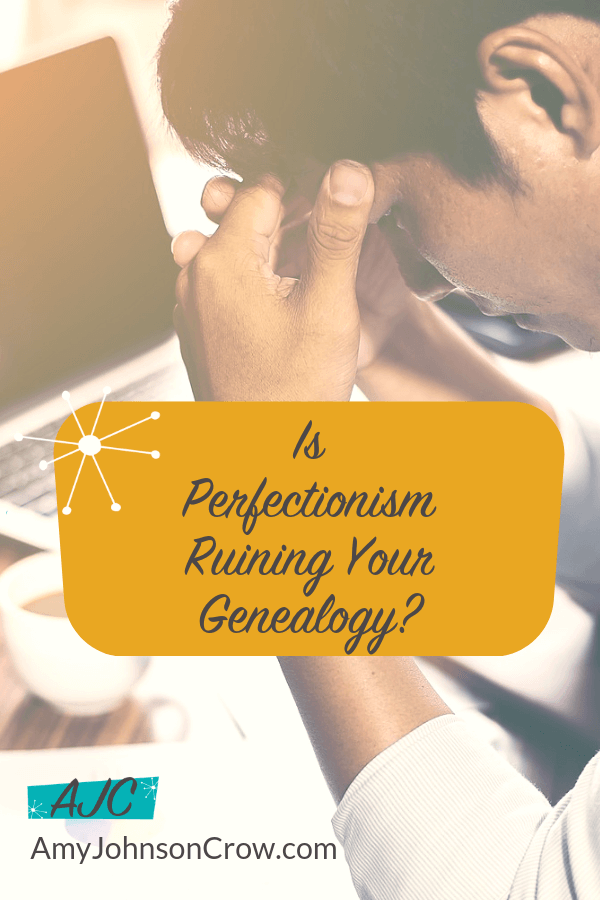 When we think that nothing less than perfect will do for our genealogy research, we end up losing out on some of the benefits of family history: making connections, sharing with others, and preserving our work for the future. #genealogy #familyhistory #ancestry Episode 1 of the Generations Cafe #podcast