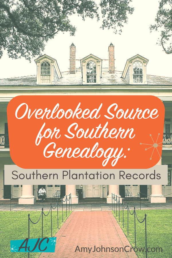 Plantation records are fantastic for Southern genealogy research. Whether your ancestor was enslaved, was a plantation owner, or a member of the broader community, these records can be valuable for piecing together their lives. They are also great for building context to understand the area. #genealogy #familyhistory