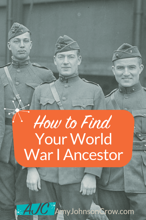 How to Find Your World War I Ancestor