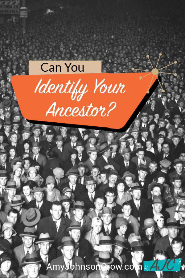 Can You identify Your Ancestor?