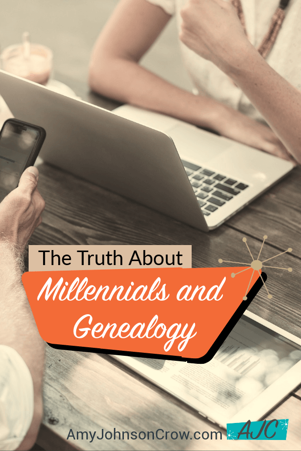 Millennials have been accused of not caring about their family history. Hear from one millennial who says that isn't true. What this means for genealogists and genealogy societies. Episode 19 of Generations Cafe genealogy podcast.