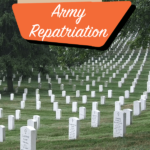 military cemetery - military repatriation