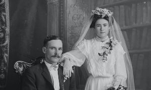 Finding Marriage Records- bride and groom